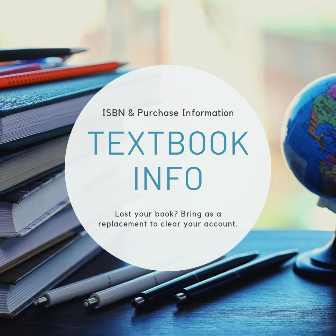 Textbook Info