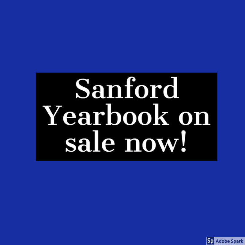 Sanford Yearbook on sale now Thumbnail Image