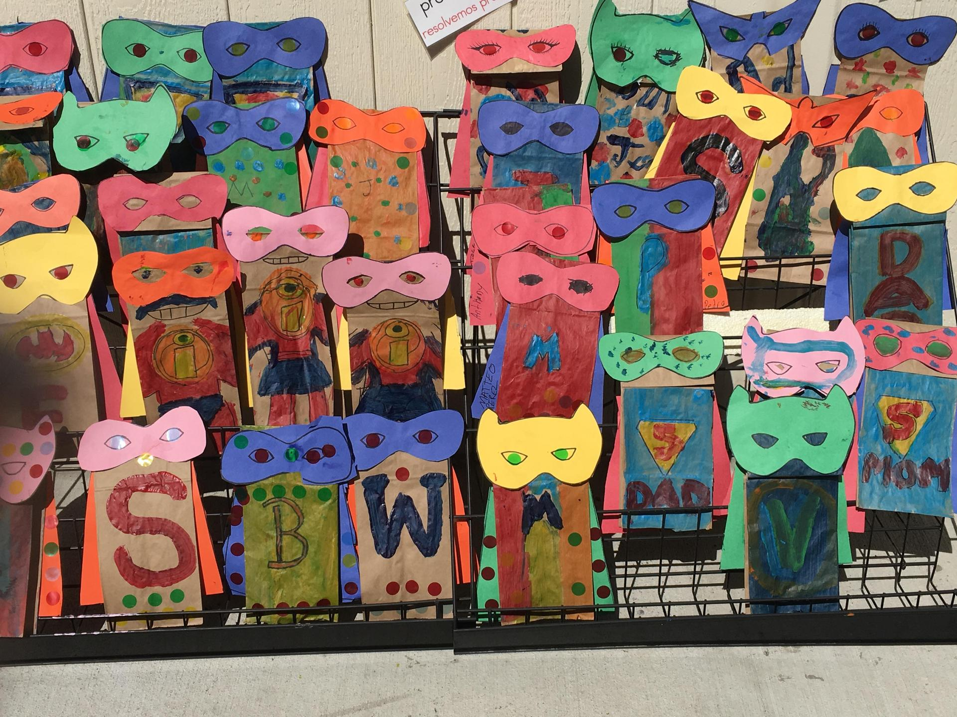 Be a Hero - Madison Child Development - Ms. Marin's & Ms. Twaddell's class
