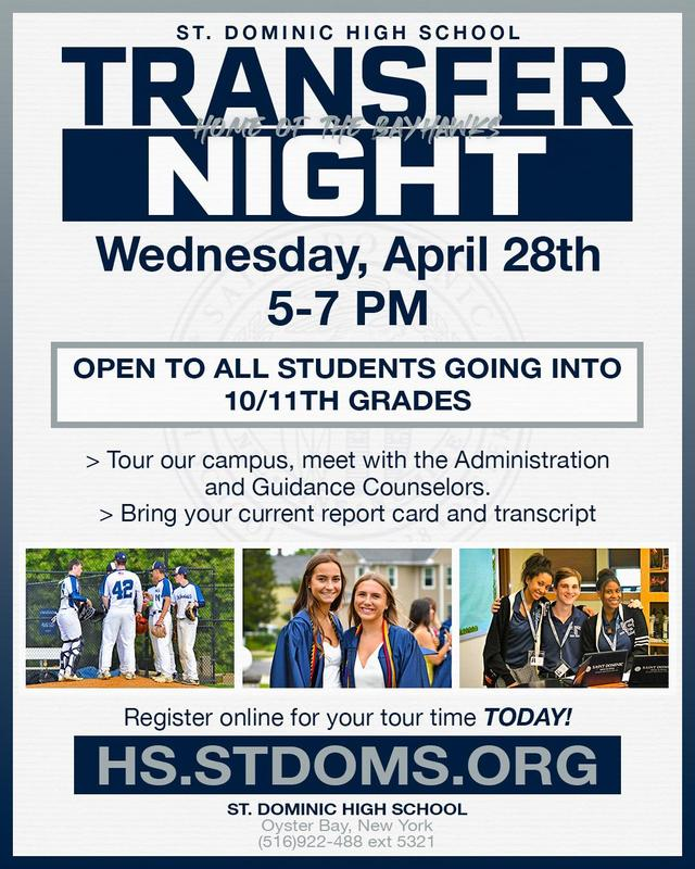 St. Dominic High School Transfer Night Featured Photo
