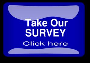 Survey Button Blue