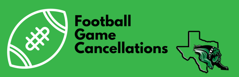 Football Games Cancelled This Week Featured Photo