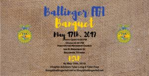 Ballinger FFA Banquet