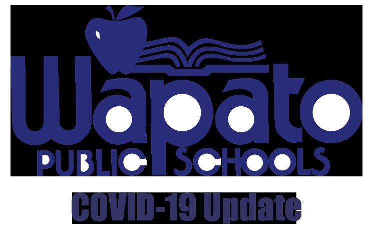 Wapato Public Schools COVID-19 Closure Update Logo