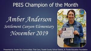 PBIS Mrs. Anderson