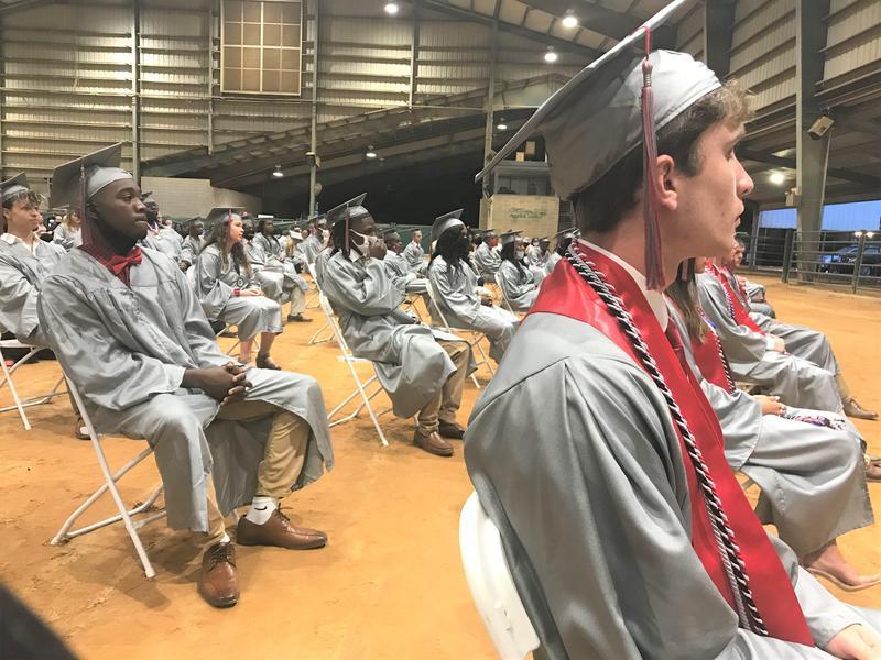 Northeast High School Graduation Photo
