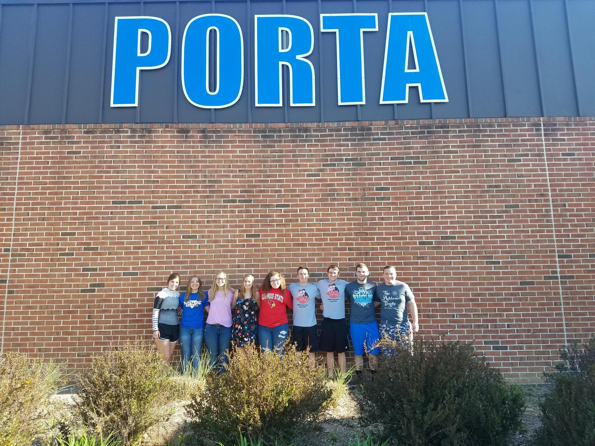 2017-18 Students of the Month