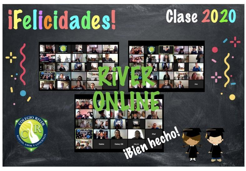 ¡Ceremonia de Graduación virtual 2020 👩🏻‍🎓👨🏻‍🎓🎉! Featured Photo