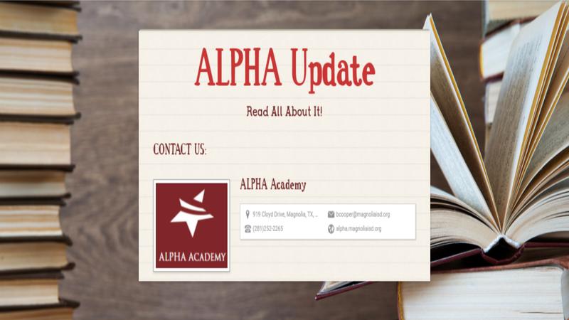ALPHA Newsletter