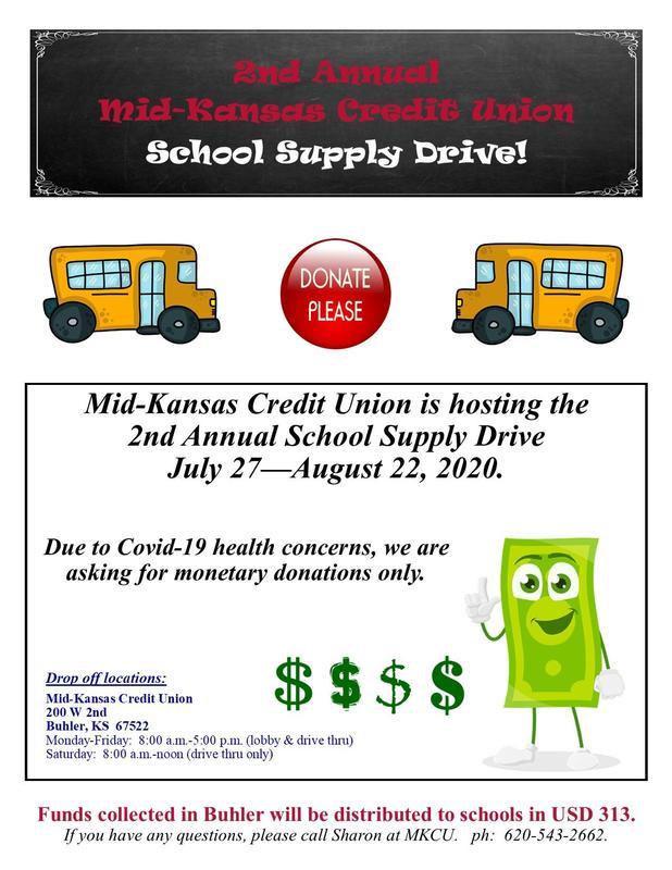 School Supply Drive Thumbnail Image