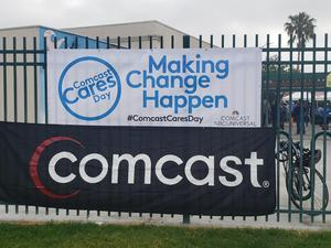 Comcast Cares Day 1