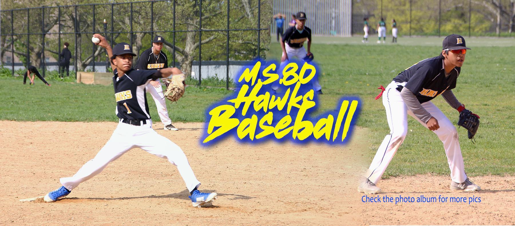 boys baseball team banner for website