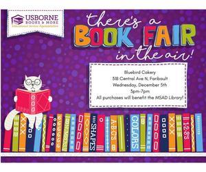 Flyer for the Book Fair