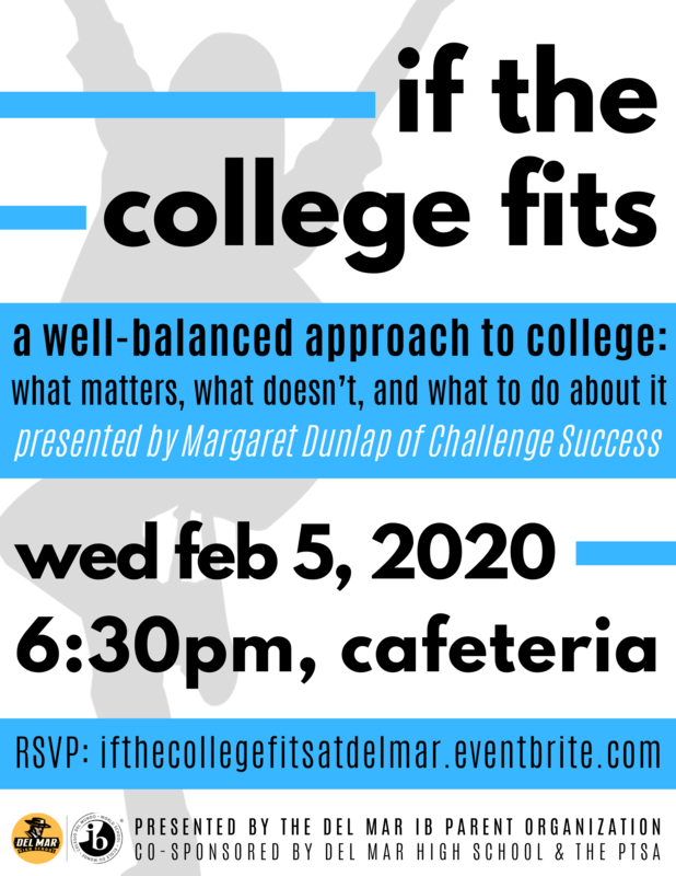 image of flyer for college presentation on february 5, 2020