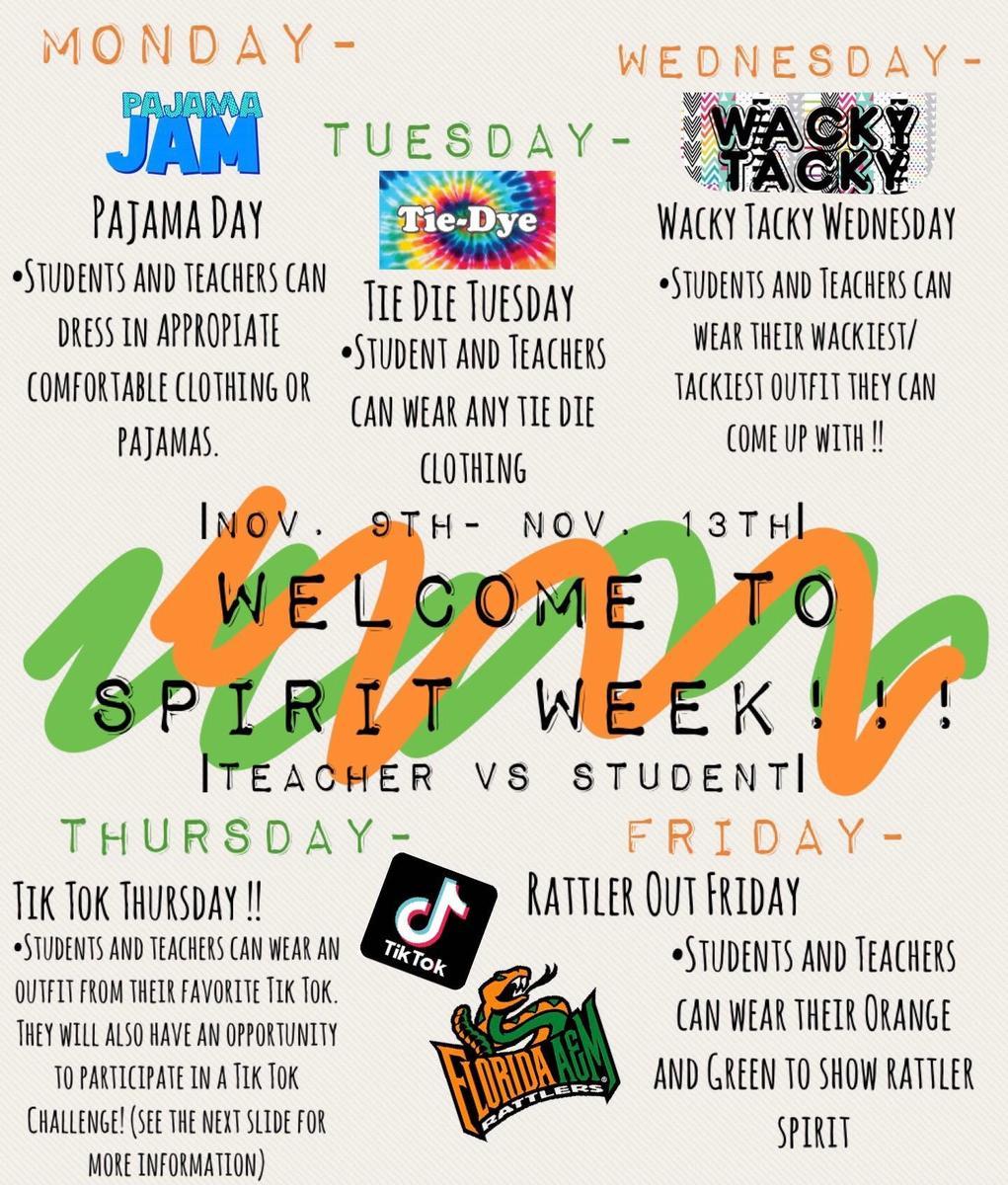 Spirit Week_November 2020
