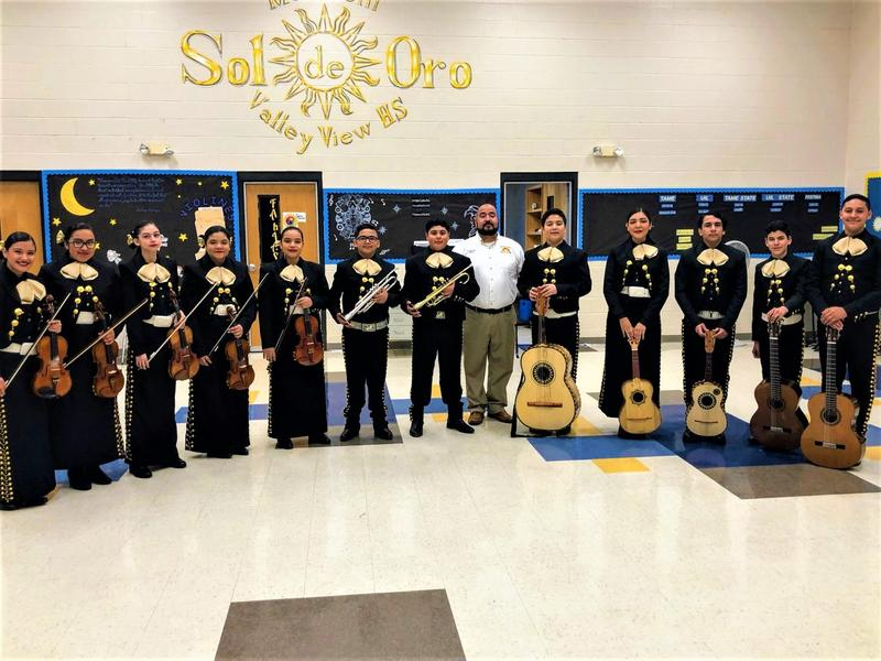 Mariachi Advances to STATE TAME Contest in 2020. Thumbnail Image