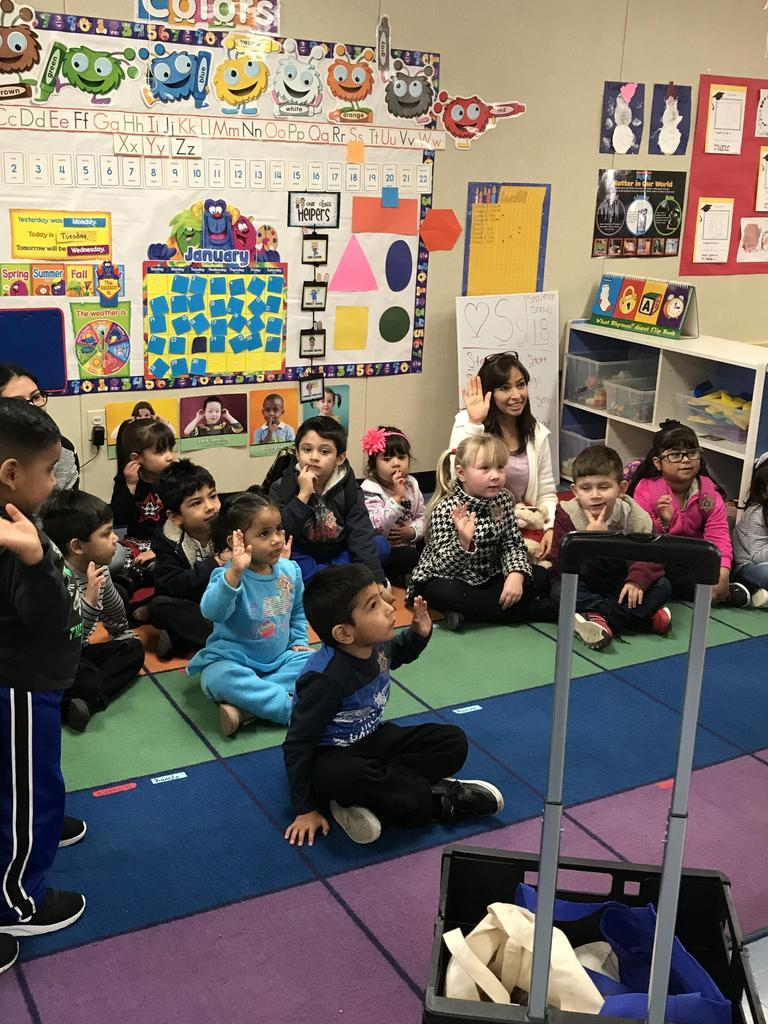 Children asking questions