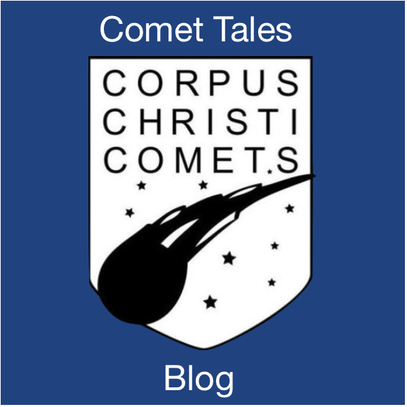 Comet Tales blog gives you a peek behind what's happening at Corpus! Featured Photo