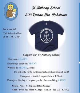 Pray Shirt Flyer