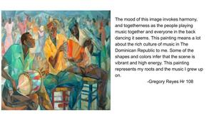 Gregory's mood description