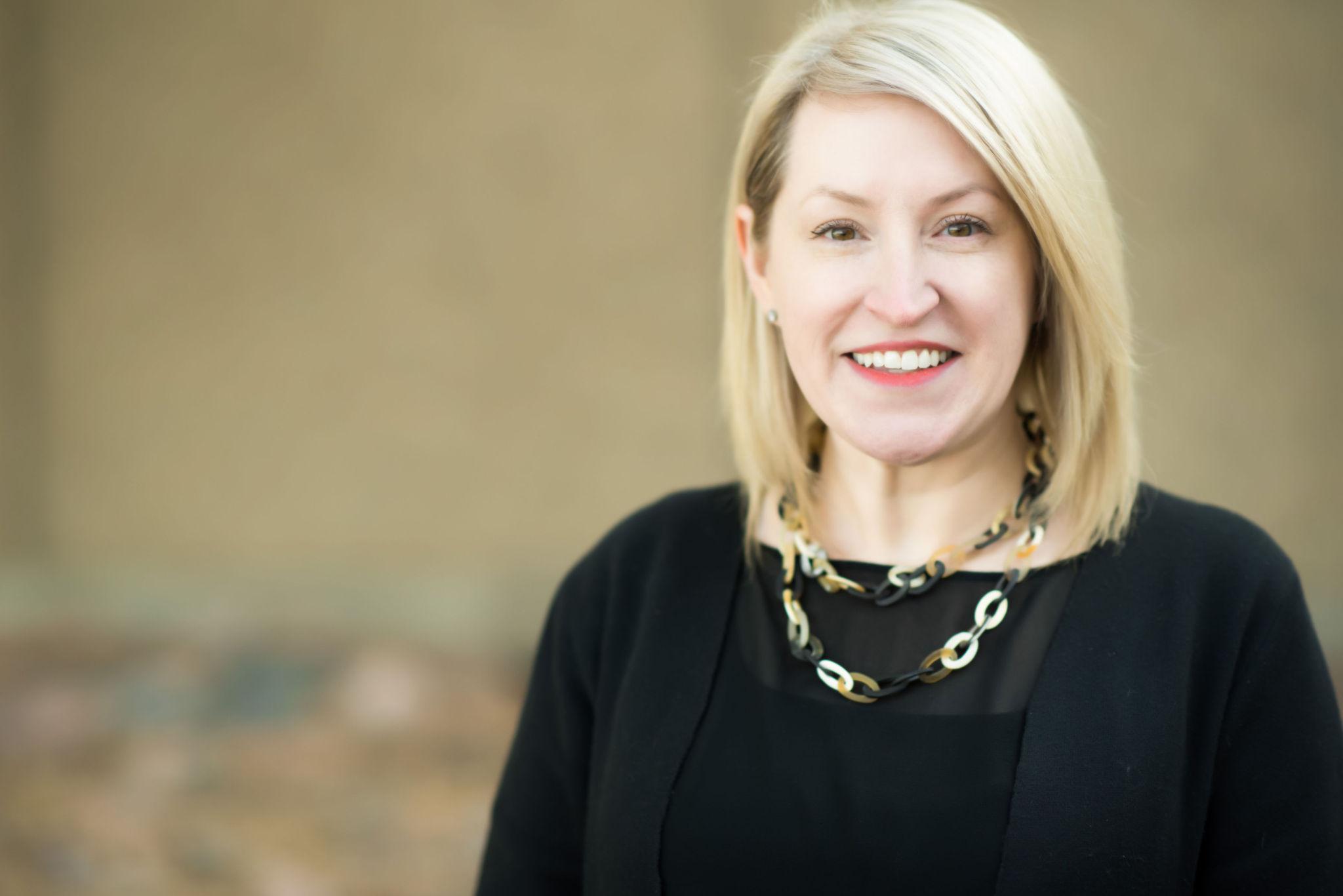 headshot of Executive Director, Sharon Collins
