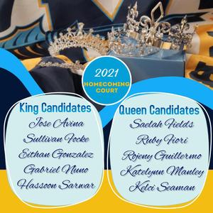 Homecoming court names