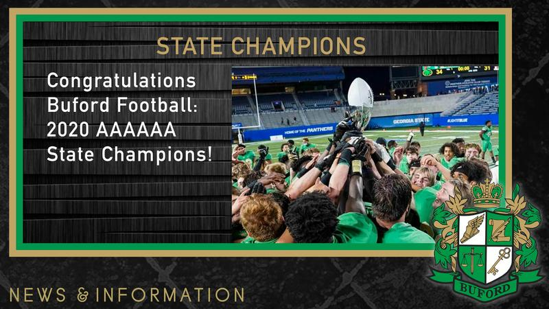 2020 State Champions Featured Photo