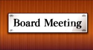 board meeting info