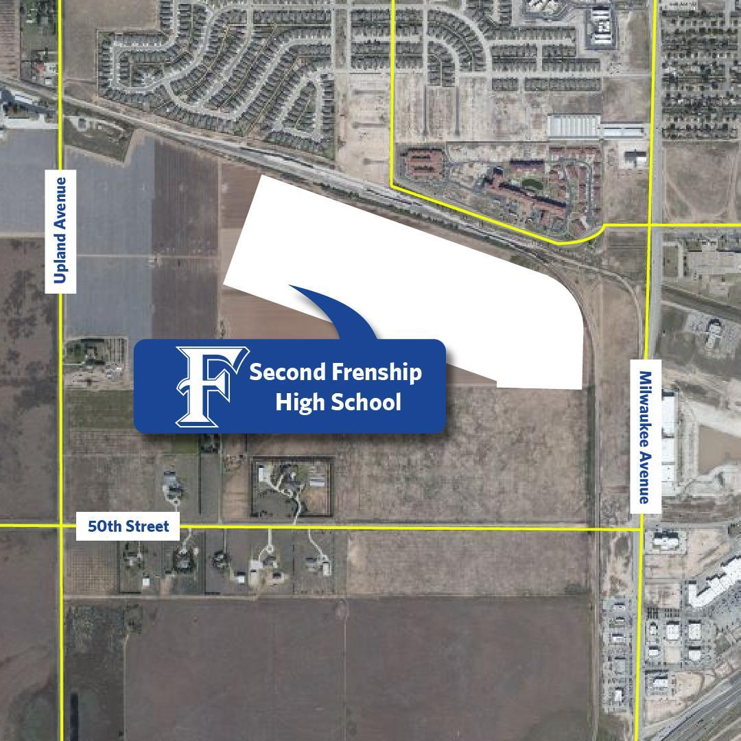 Location for Second High School - 46th & Upland