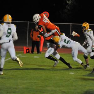 WVHS football touchdown