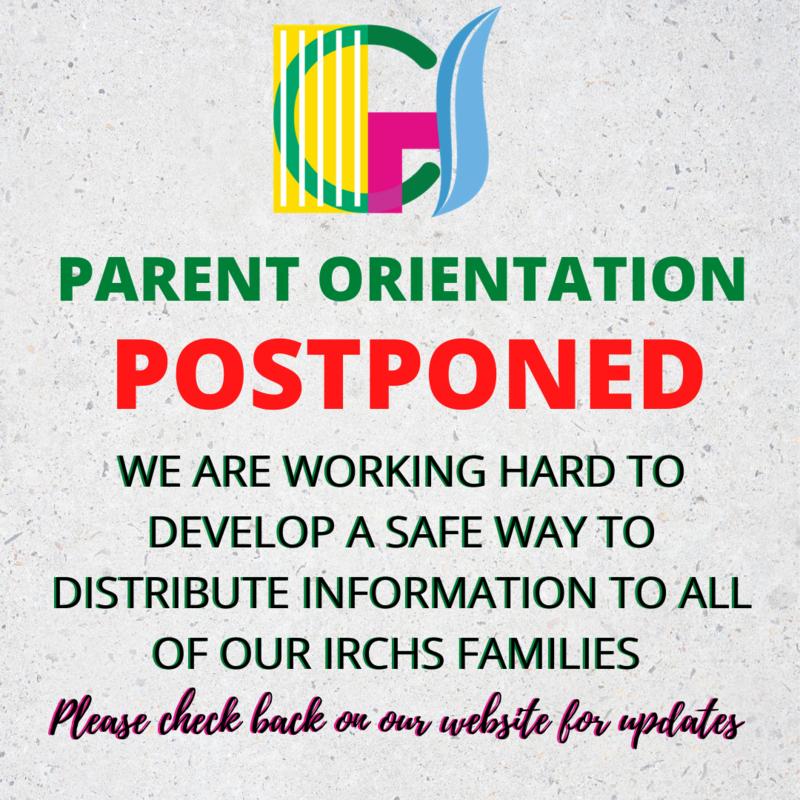 Parent Orientation Postponed Featured Photo