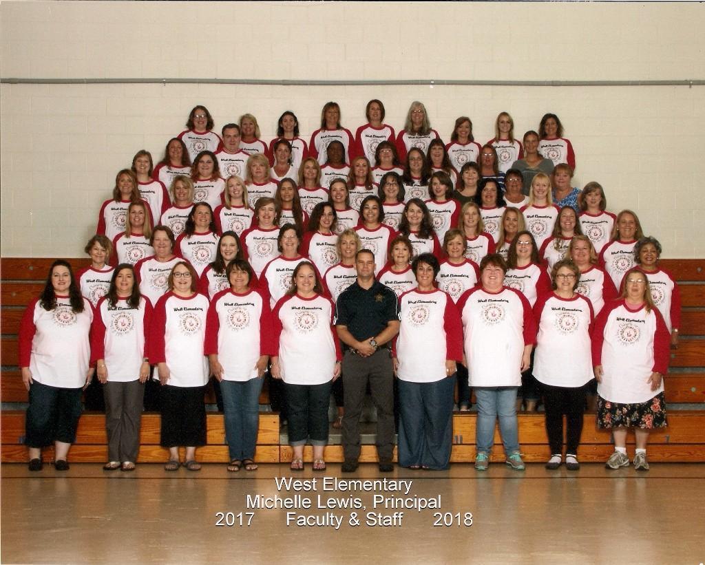 West Elementary Staff 2017-18