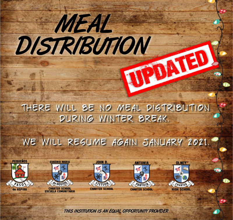 MEAL DISTRIBUTION UPDATE Featured Photo