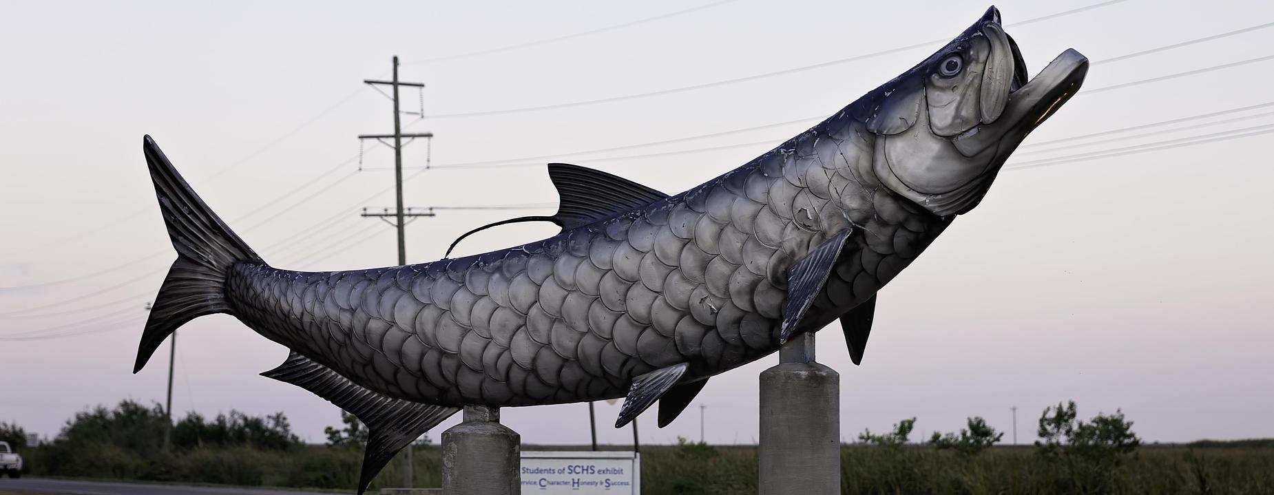 Tarpon Statue