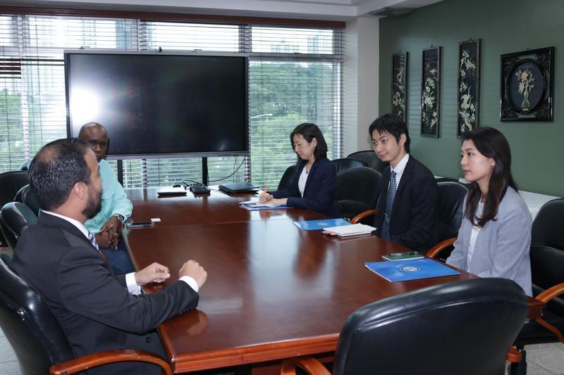 Visita de los representantes de la Embajada de Japón Featured Photo