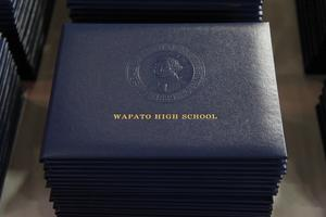 Wapato High School diploma cover