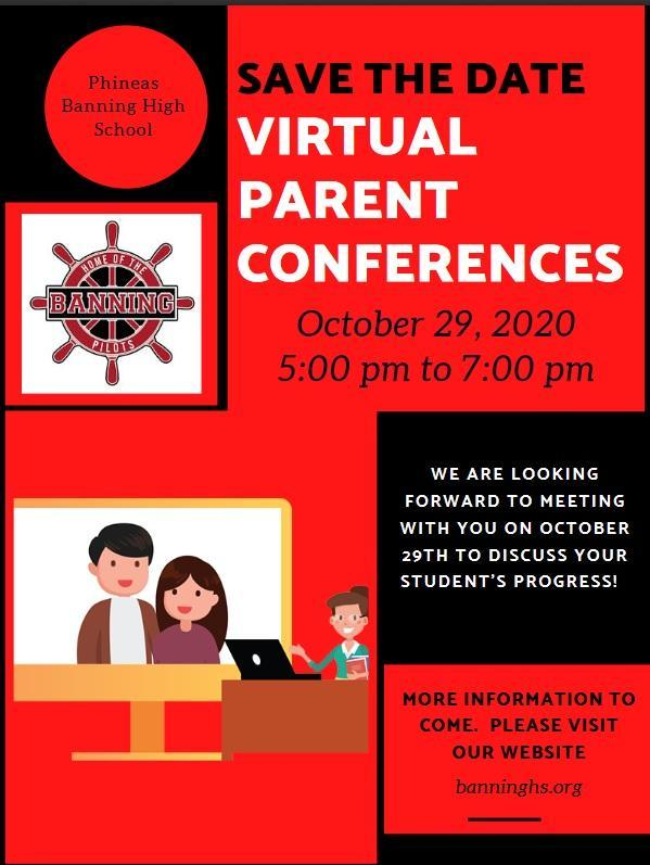 Virtual Parent Conference - October 29, 2020 5-7pm Featured Photo