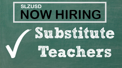 Now Hiring Substitute Teacher