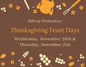 Thanksgiving Feast Graphic