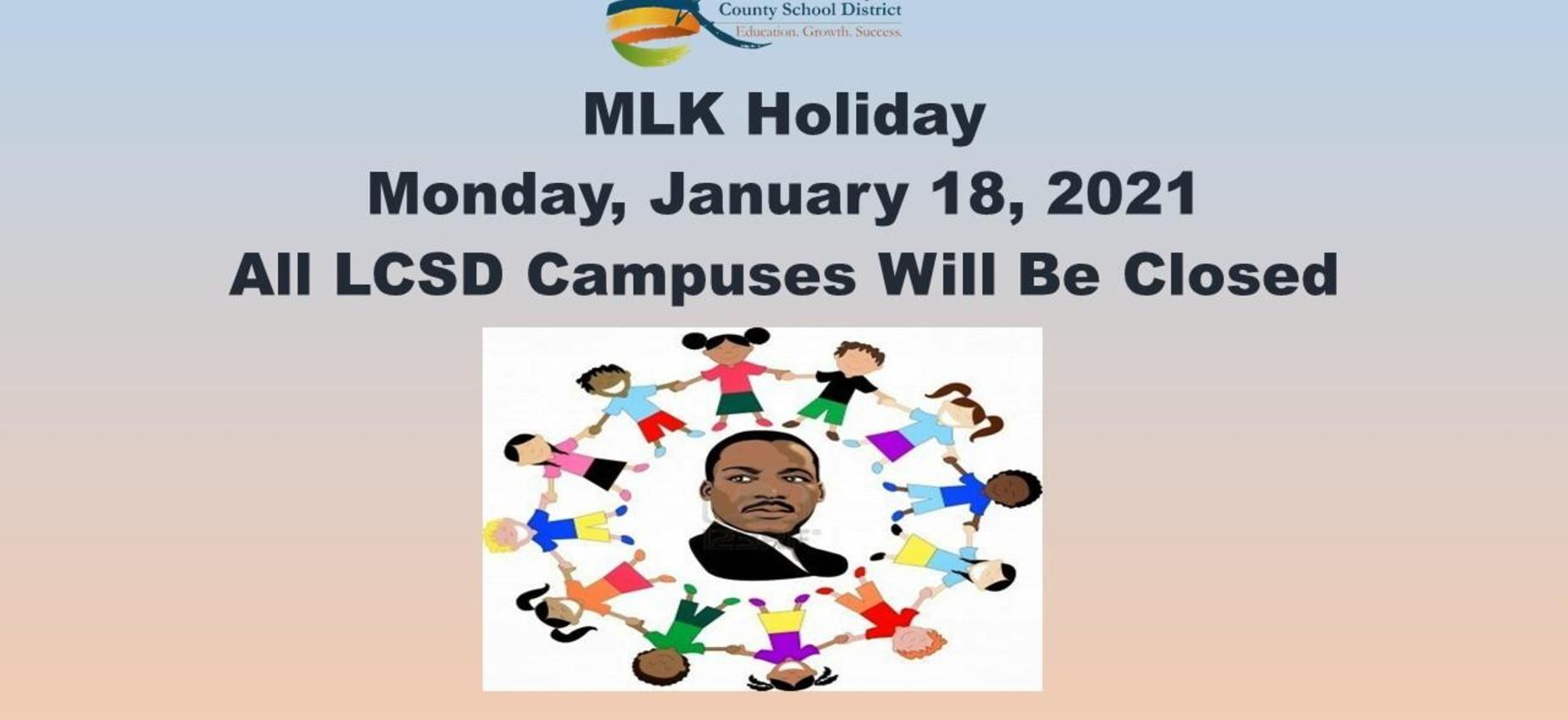 MLK Holiday Graphic