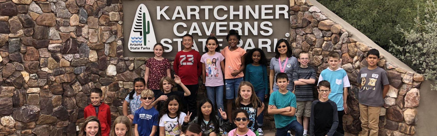 4th Grade Visits Kartchner Caverns