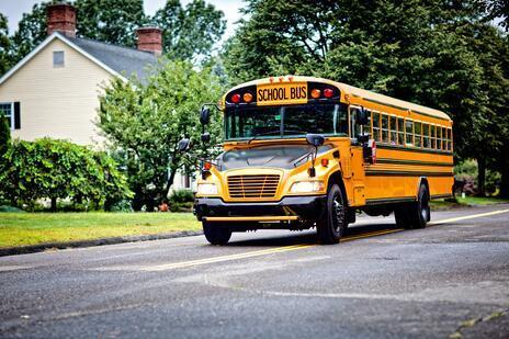 School Buses Are Delivering Meals to Students Out of School Thumbnail Image