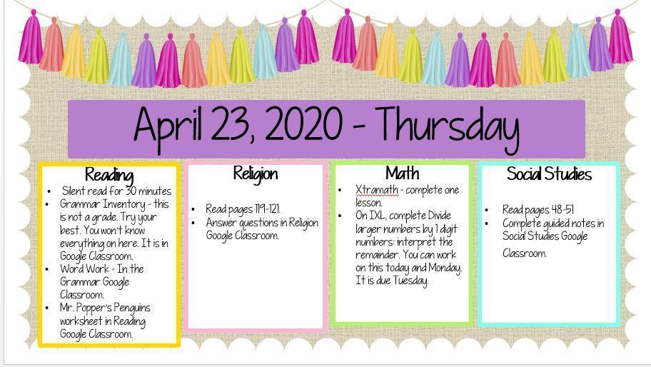 April 23, 2020