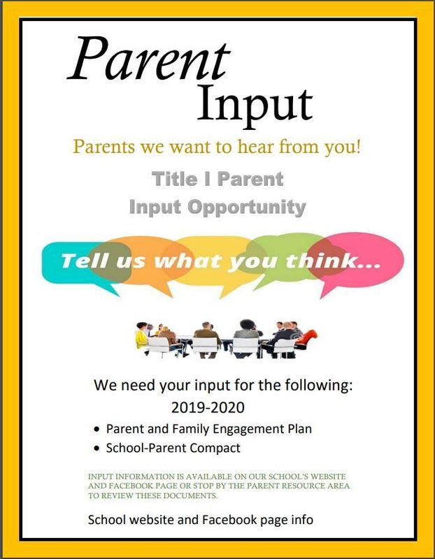 Parent Input Needed