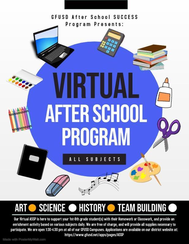 Virtual Afterschool Program! Thumbnail Image