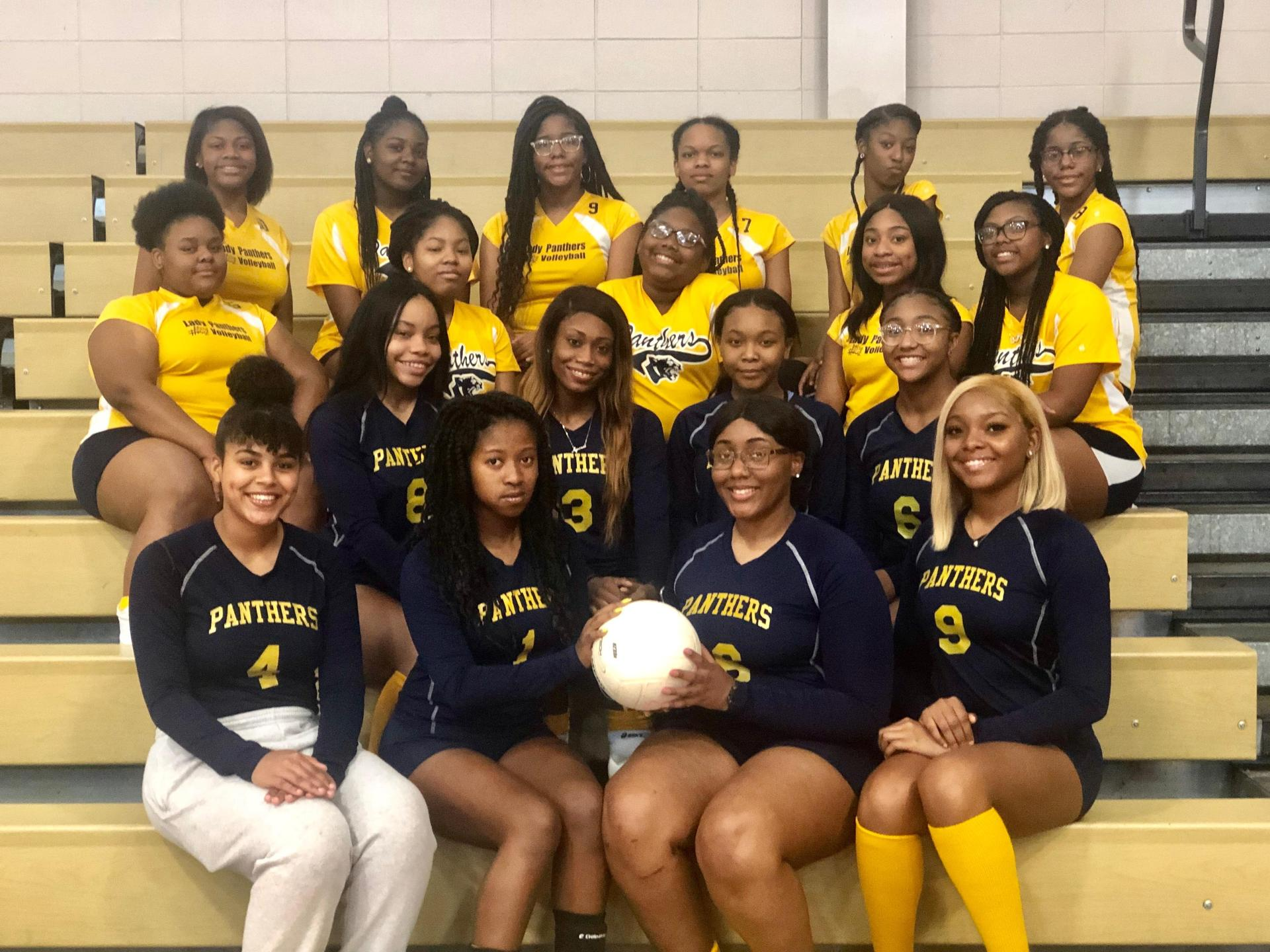West Lowndes Volleyball Team 2019