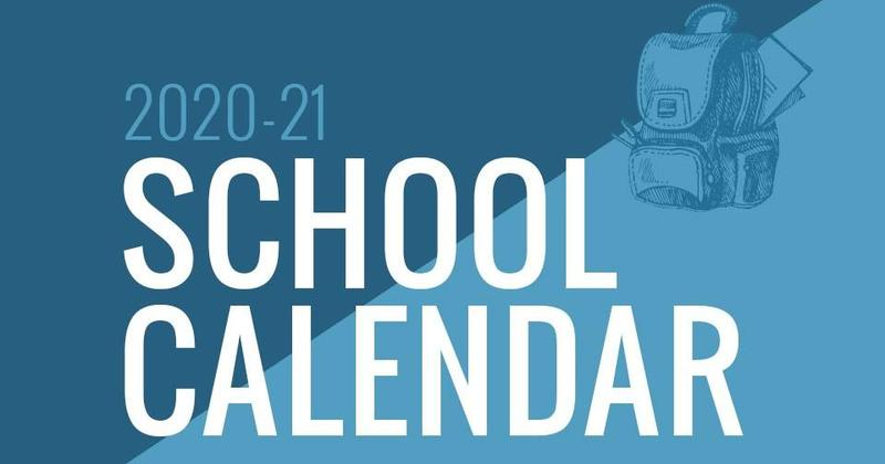 2020-2021 School Calendar Revised Featured Photo