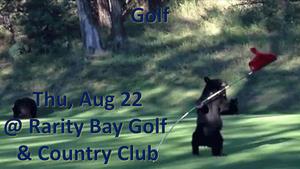 Golf Thu, Aug 22 @ Rarity Bay Golf & Country Club