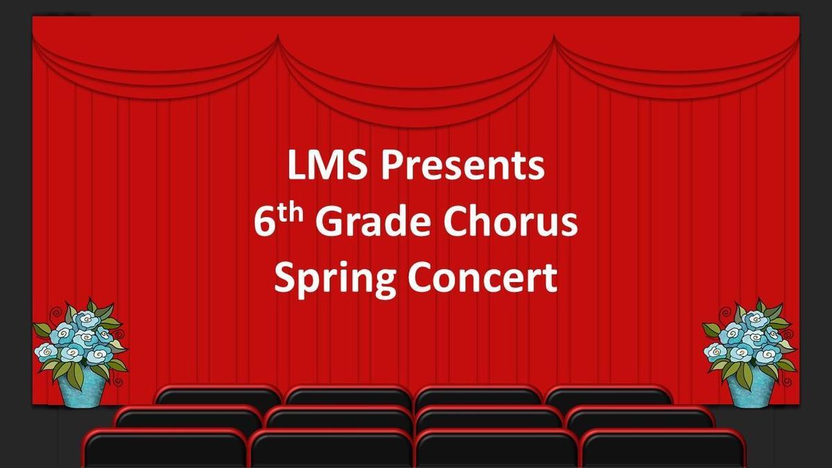 6th Grade Spring Concert 2021
