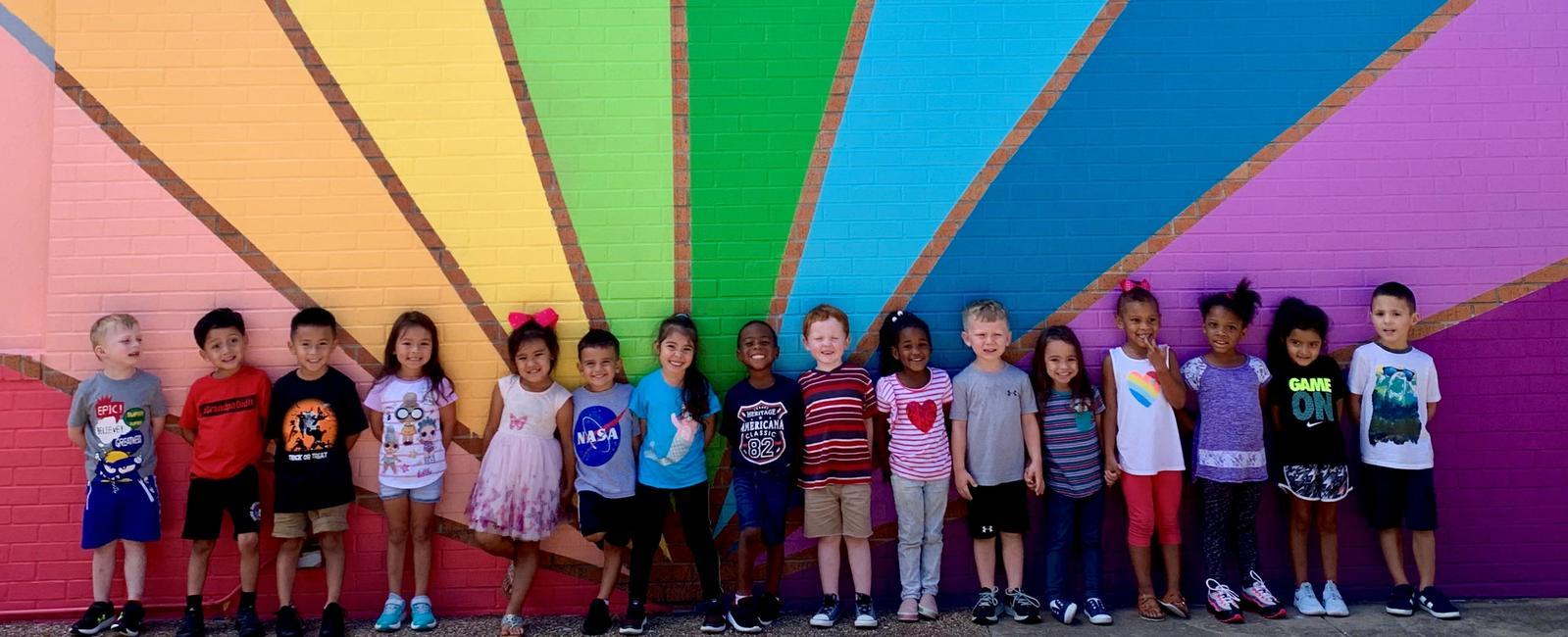 Turner Prekindergarten Academy students